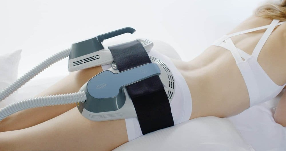 Emsculpt: Get rid of stubborn unwanted body fat - quick, easy, non-surgical! Body treatments and solutions for every need at Skintastic Cosmetic Surgery and Laser Skin Care Center in Plano