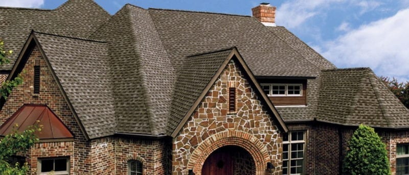 Dimensional shingles by Praus Construction