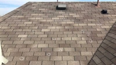 Quality Roof Inspection for Hail Damage - Praus Construction - Dallas area roofing and storm damage experts